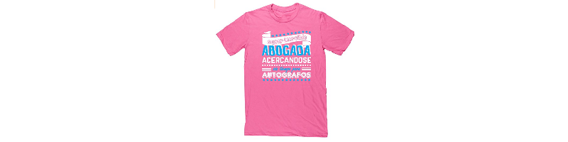 Camiseta super increible abogada