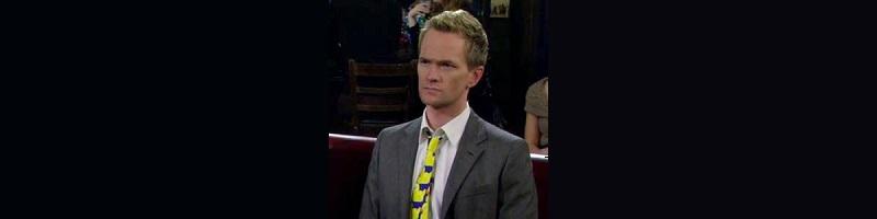 corbata patitos patos barney stinson como conoci a vuestra madre