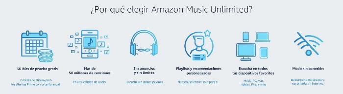 musica descarga oir artista playlist gratis amazon