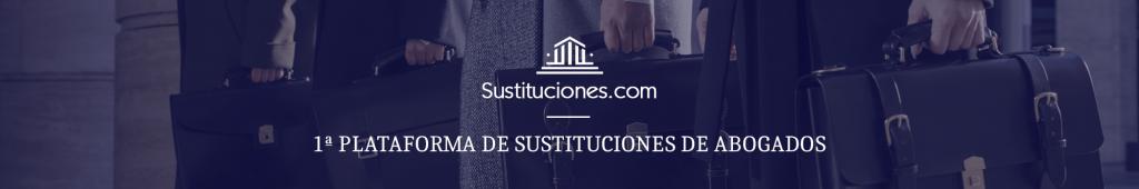 Abogados sustitutos sustitución de abogados